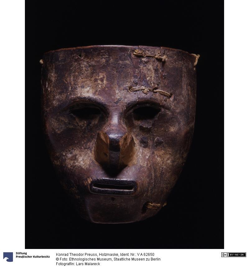 Holzmaske Kolumbien, 1440
